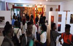 Les étudiants de l'INMAAC (UAC) en sortie pédagogique à Artisttik Africa